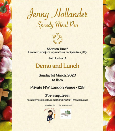 Food demo and lunch