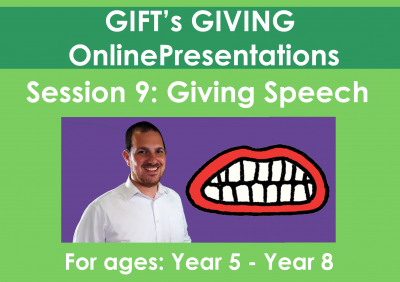 Giving Speech (Duration - 40 minutes)